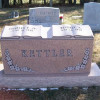 Custom Shape Double Headstone With Book Design