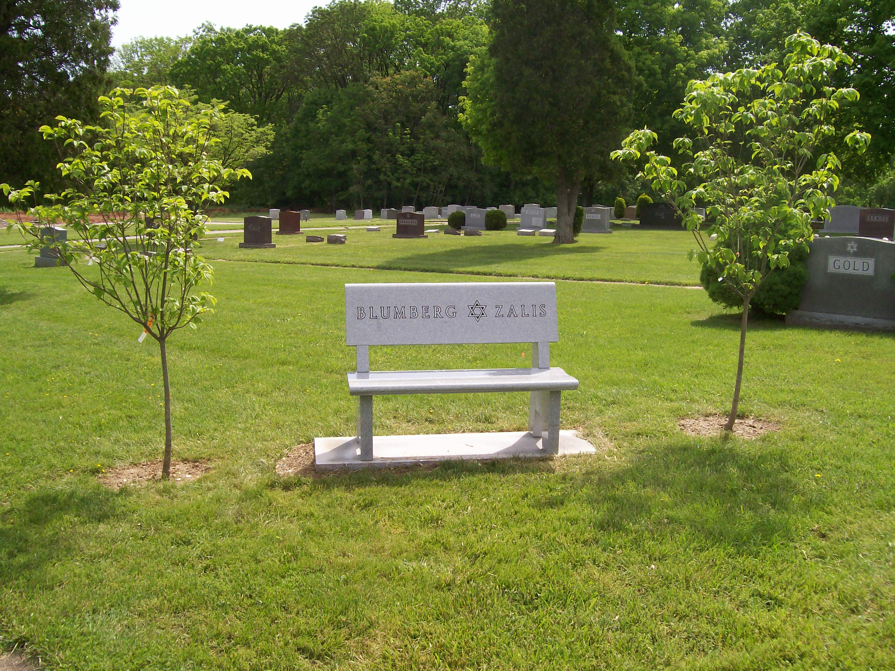 Custom cemetery benches tegeler monument company Cemetery benches