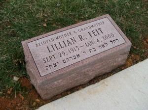Granite Grave Marker