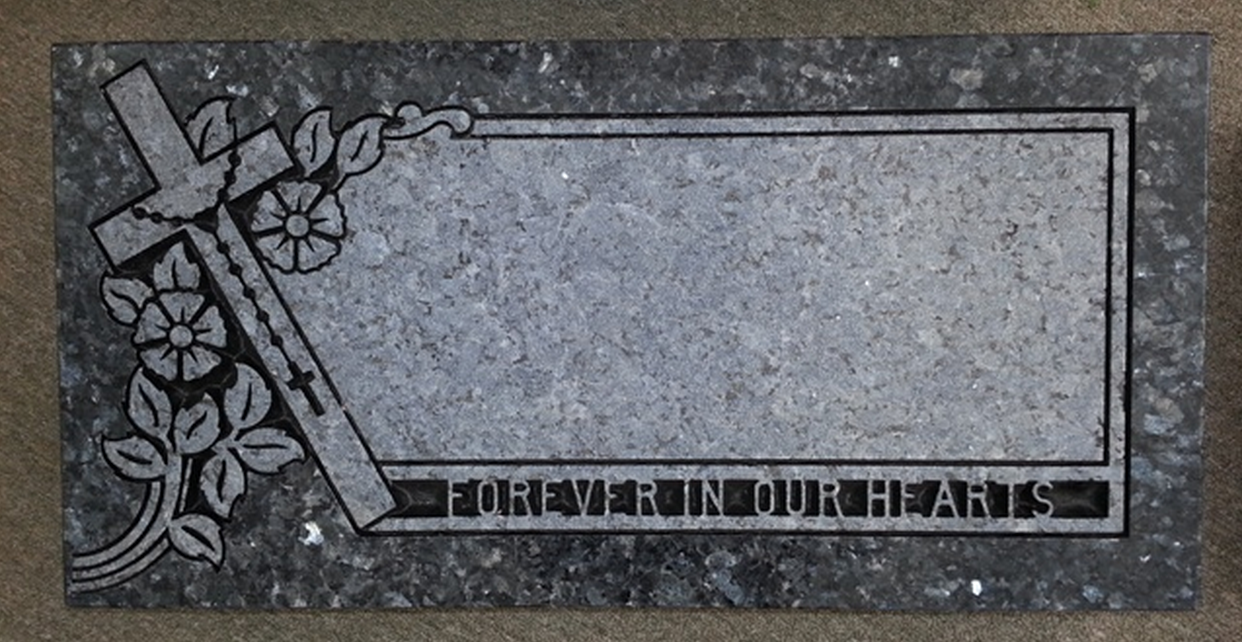 religious grave markers tegeler monument company